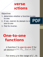 1.7 Inverse Functions