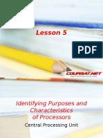 identifying Purposes and characteristics