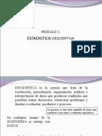 Modulo I Estad Stica Descriptiva 2013 1