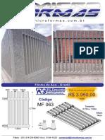 Catálogo de Produtos MicroFormas )))) Atualizado 01.2017.Compressed