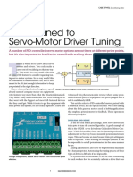 Servo-Motor Driver Tuning