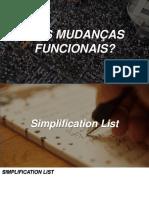 S4 Hana - Simplification List