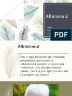 Albinismul