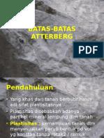 Pertemuan 03- BATAS-BATAS ATTERBERG.ppt