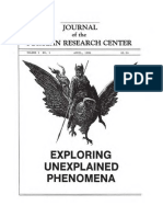 Journal of the Fortean Research Center - Vol 1 No 1