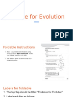 evidence for evolution ppt 2017 for foldable use this one