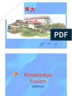knowledge fusion