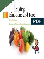 Spirituality Emotions and Food