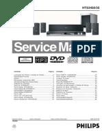Philips Hts3450-55 Sm