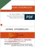 1. Konsep Dan Prinsip Epidemiologi