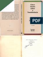 BAREMBLITT_Gregorio - Cinco licoes sobre a transferencia.pdf