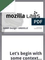 Mozilla Keynote