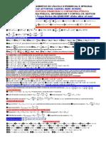 Formulario de Elementos de Cálculo Diferencial e Integral