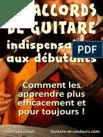35 Accords Guitare Débutants (v 1.1)