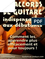 35 Accords Guitare Débutants (v 1.1)