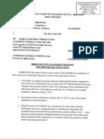 Damascus Preliminary Injunction