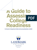 college-readiness assessment