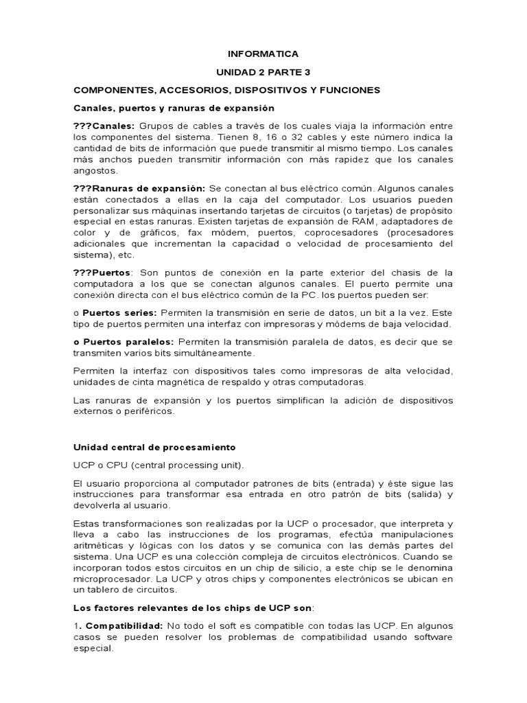 Informatica u2 Parte 3