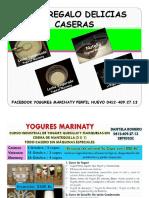 Guía Regalo Delicias Caseras Yogures Marinaty