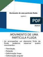 Movimento de Uma Partícula Fluida