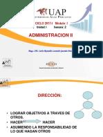 SEMANA 2 - LA DIRECCION.pdf