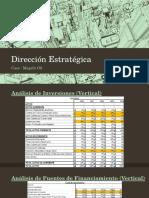Dirección Estratégica Finanzas
