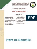Etapa de Madurez Oficial
