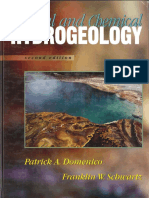 Domenico and Schwartz- Physical and Chemical Hydrogeology Text Excerpts