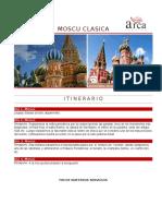 Moscú clásica programa de viajes
