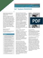 Estacion Meteorologica Automatica MAWS100
