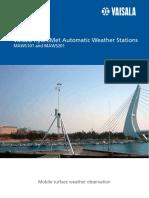 Estacion Meteorologica Automatica MAWS201