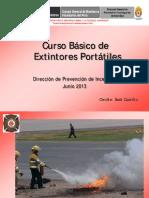 Curso Basico de Extintores Portatiles