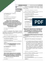 resolución legislativa del Congreso Nº 012-2016-2017-CR