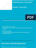 Innovative Distribution Channels and Integrating Multi-Channels