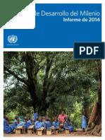 ONU - Objetivo de desarrollo del milenio - Informe 2014.pdf