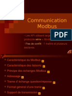 Communication Modbus