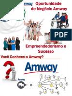 Plano de Negócio Amway Agita Brasil Nmmn