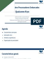 -Seminário sobre Processadores Embarcados - Qualcomm Kryo