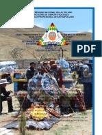 Tradiciones y Costumbres Por El Dia de Todos Los Muertos en El Distrito de Nicasio -Lampa-puno