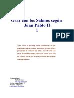 Juan Pablo II - Orar Con Los Salmos