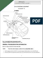 2012 ACCESSORIES & EQUIPMENT AcuraLink® - TL