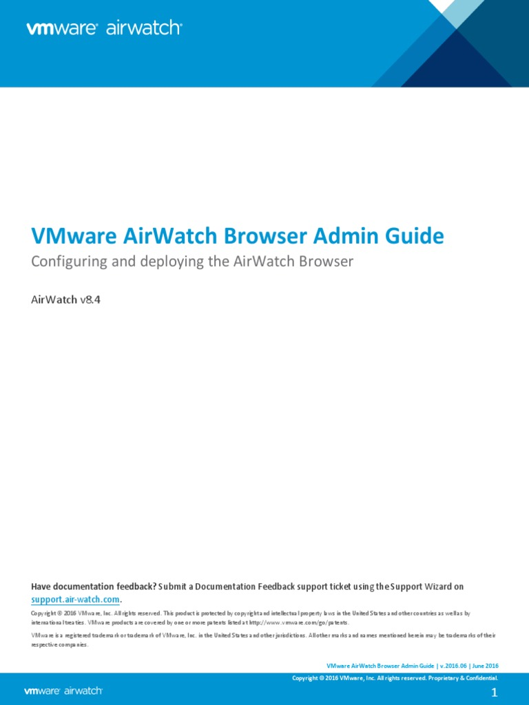 Vmware airwatch browser admin guide http cookie proxy server yadclub Image collections