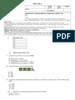 Evaluación math U1 3° A-B
