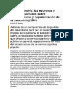 El libre albedrío, las neuronas y usted, inquietudes sobre reduccionismo y popularización de la ciencia cognitiva.pdf