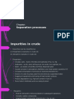 seperation Processes