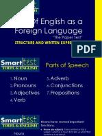 TOEFL Grammar and Structure
