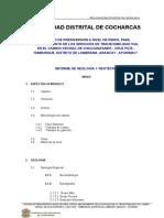 Estudio de Geologia y Geotecnia