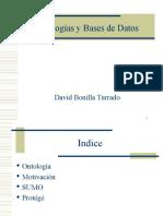 Ontologías y Bases de Datos