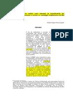 A Incorporação Do Sentido Como Elemento Da Especificidade Dos Fenômenos Humanos e Sociais Na Sociologia Compreensiva de Max Weber