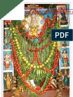 Kanaka Durga in Saakaambari Macup
